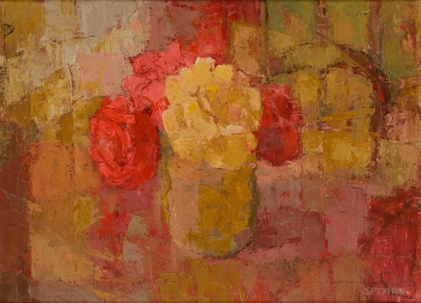 168 Red & yellow roses 44x59 Susanna UK