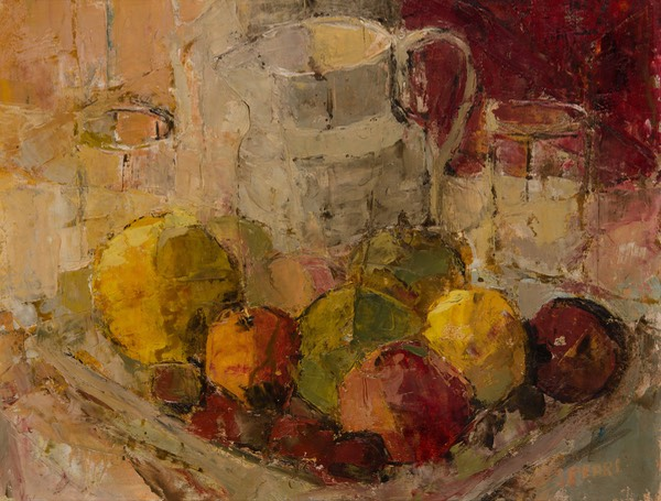176 Still life with pomegranets 39x50.5 Libertas