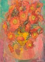 279 Flowers in a yellow vase       Marsillio  SA BCY0198