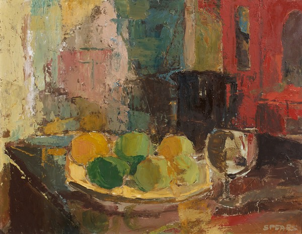 70 Still life with lemons 45x58  Perold  SA BCY0215