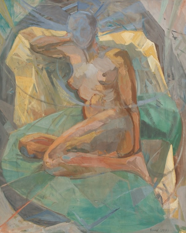131 Reclining nude 75x60  Pondicherry  SA BFC0004