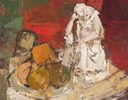 304 Still life with figurene 45x57.5 Ruth Allen SA BFC0038