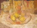 207 Still life with lemons  44x58 Hennie Nieman  SA BFC0162
