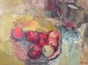 309 Red Apples 46x60 Connie Garcia SA