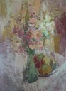 67Still life with flowers 74x45 SA Perold