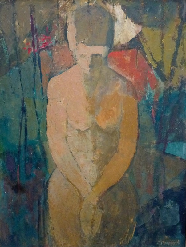 343 Nude in the woods 71x53 Anthony Hill   SA