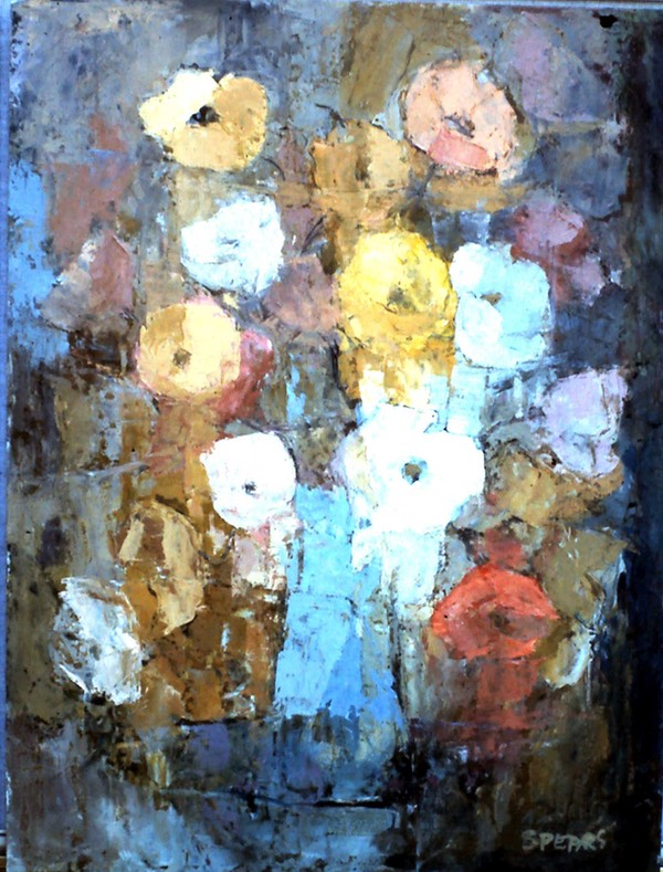 171 Coloured poppies 60x45 SA unknown